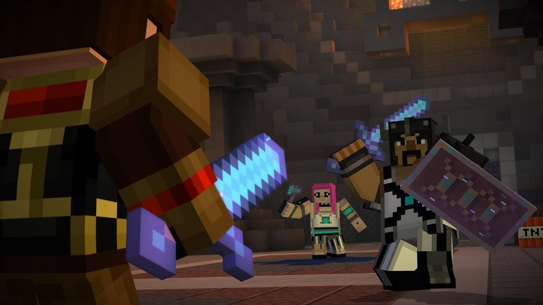 تصویر نقد و بررسی بازی Minecraft: Story Mode – A Telltale Game Series برای Xbox One 02