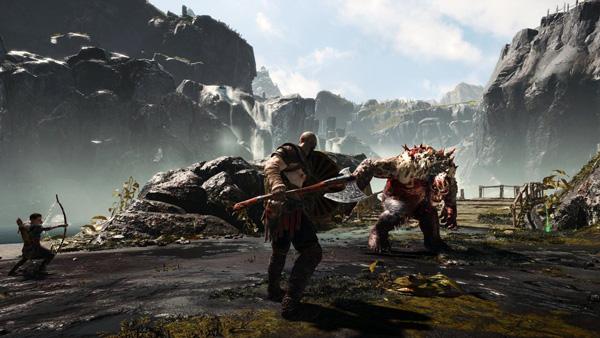 تصویری از بازی God Of War در Ps4