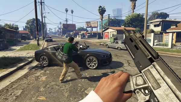 تصویری از بازی Gta V در PS4