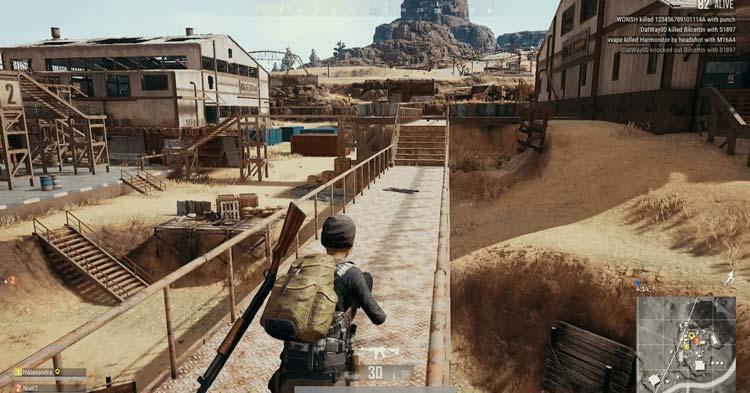 تصویری از بازی Pubg در پلی استیشن 4