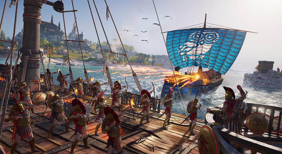 تصویر بازی Assassin's Creed Odyssey ps4 4