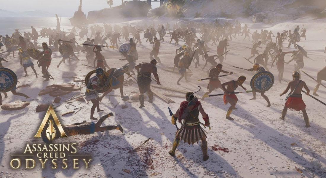 تصویر بازی Assassin's Creed Odyssey ps4 5