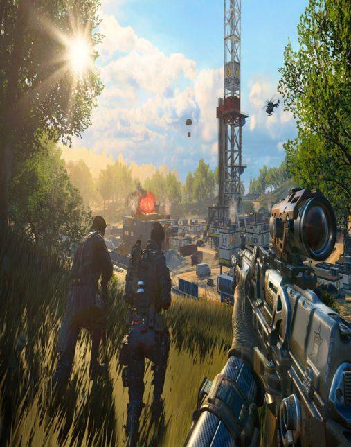 تصویر بازی Call Of Duty Black Ops 4 برای ps4 1