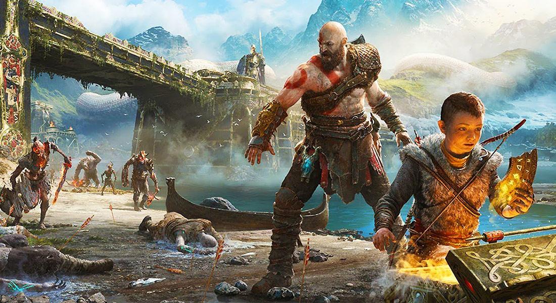تصویر بازی God Of War PS4 5