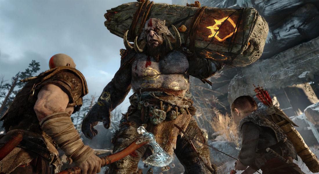 تصویر بازی God Of War PS4 6