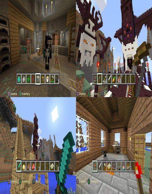 تصویر بازی Minecraft Playstation 4 Edition برای Ps4 1