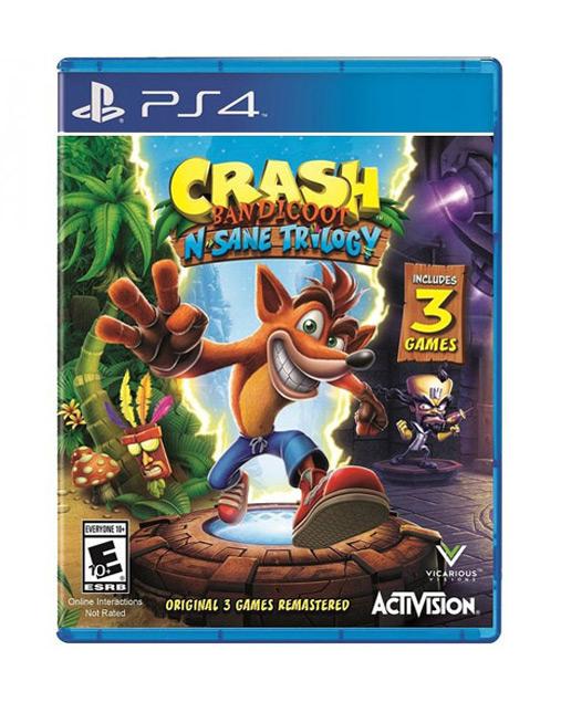 خرید بازی Crash Bandicoot N Sane Trilogy Ps4
