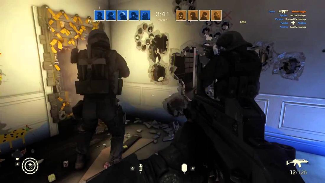 تصاویری از گیم پلی بازی Tom Clancy's Rainbow Six:Siege برای Xbox One 05