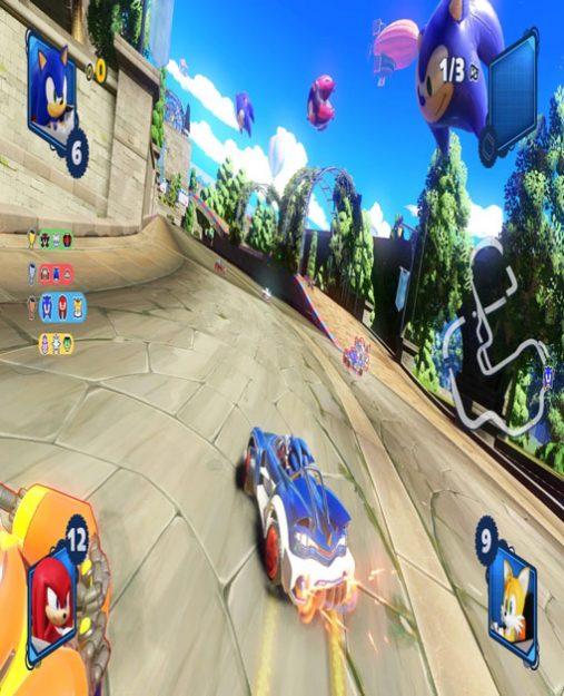تصویری از بازی Team Sonic Racing در Xbox One 2