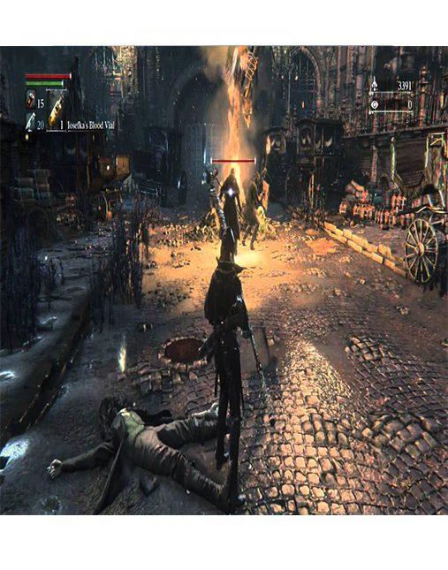 تصویر بازی Bloodborne برای Ps4 - کارکرده 02