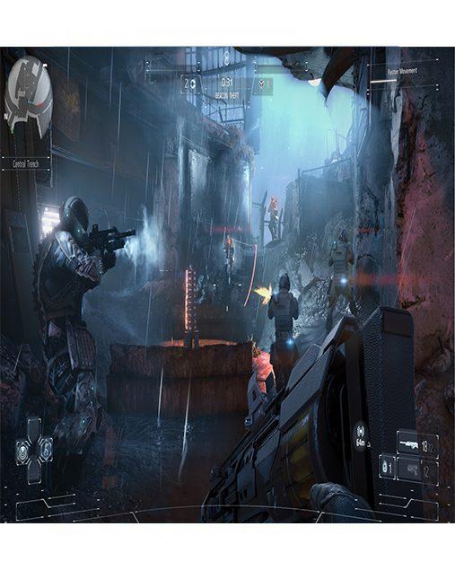 تصویر بازی Killzone Shadow Fall برای Ps4 - کارکرده 02