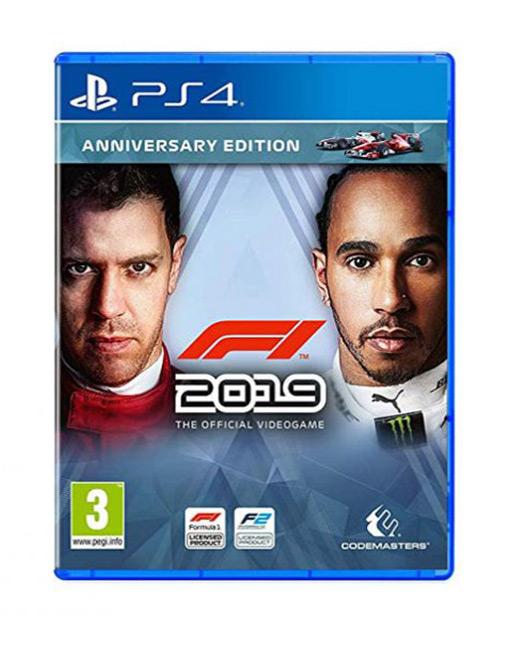 خرید بازی F1 2019 Anniversary Edition برای Ps4