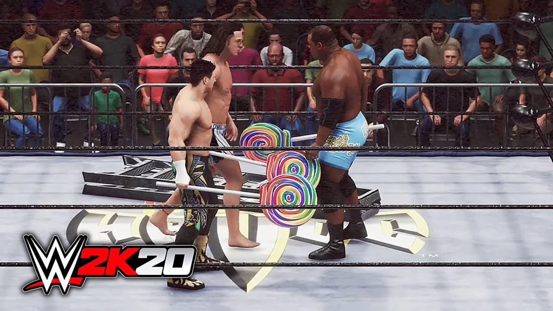 تصویر بازی بازی WWE 2K20 برای Ps4 07