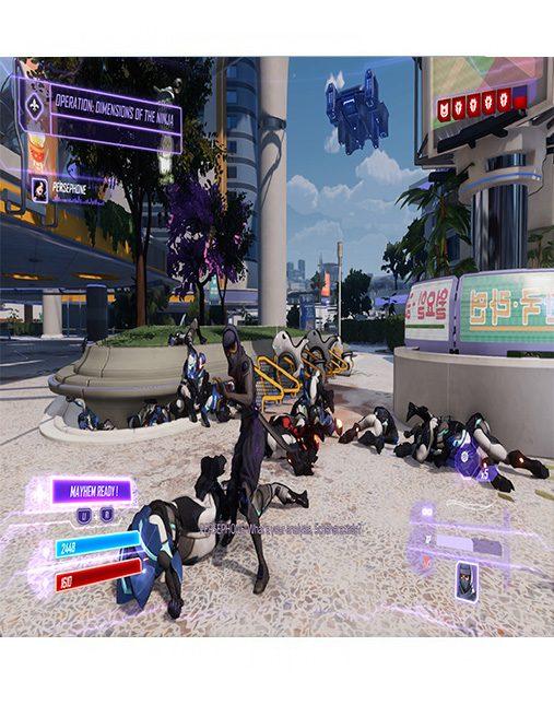 تصویر بازی Agents Of Mayhem برای Ps4 - کارکرده 02