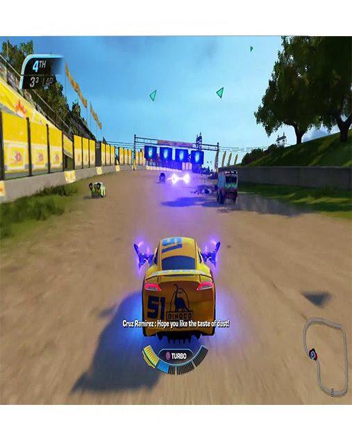 تصویر بازی Cars 3: Driven To Win برای Ps4 - کارکرده 01