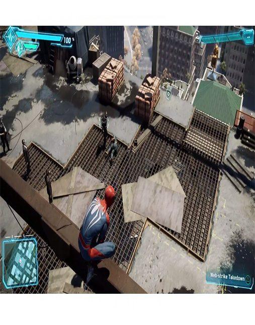 تصویر بازی Spider Man برای Ps4 - کارکرده 02