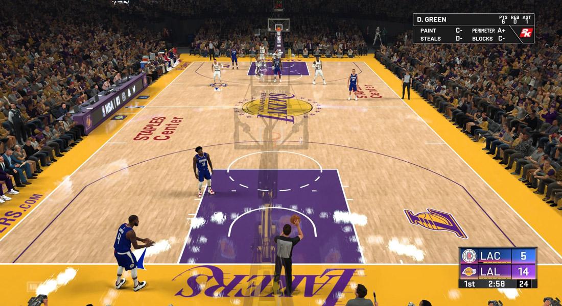 تصویر بازی NBA 2K20 Ps4 2 1