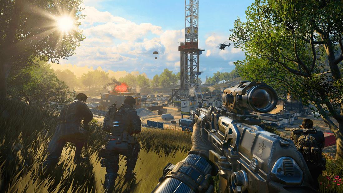 تصاویری از گیم پلی بازی Call Of Duty: Black Ops 4 برای Xbox One 03