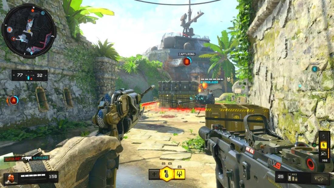تصاویری از گیم پلی بازی Call Of Duty: Black Ops 4 برای Xbox One 01