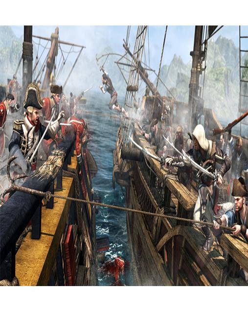 تصویر بازی Assassin's Creed Black Flag برای Ps4 03
