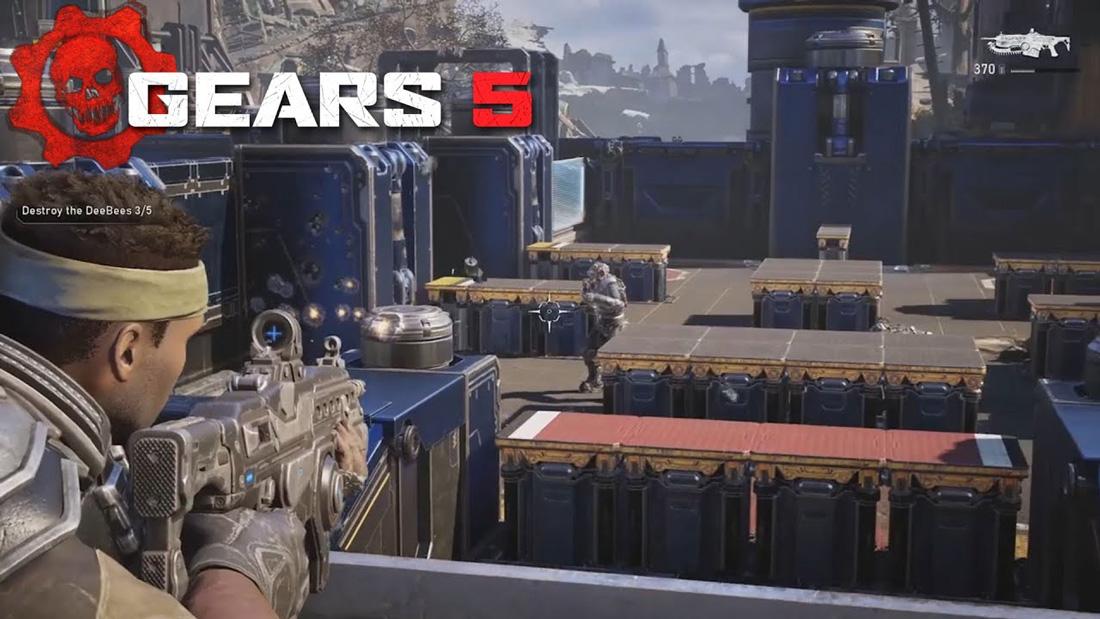 تصویر نقد و بررسی بازی Gears 5 برای Xbox One 02