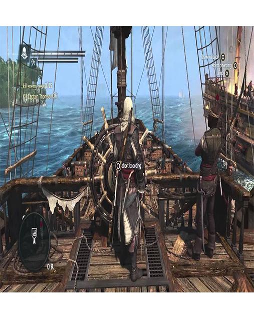 تصویر بازی Assassin's Creed Black Flag برای Ps4 01