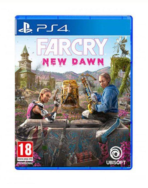 خرید بازی دست دوم و کارکرده Far Cry New Dawn Ps4