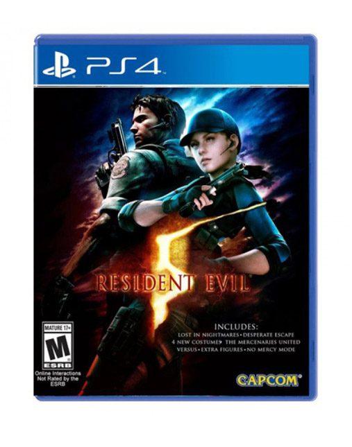 خرید بازی دست دوم و کارکرده Resident Evil 5 Ps4