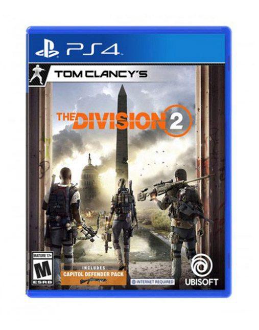 خرید بازی دست دوم و کارکرده Tom Clancy's The Division 2 Ps4