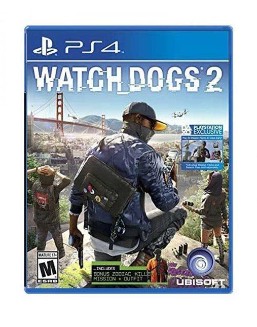 خرید بازی دست دوم و کارکرده Watch dogs 2 Ps4