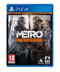 خرید بازی کارکرده و دست دوم Metro redux Ps4