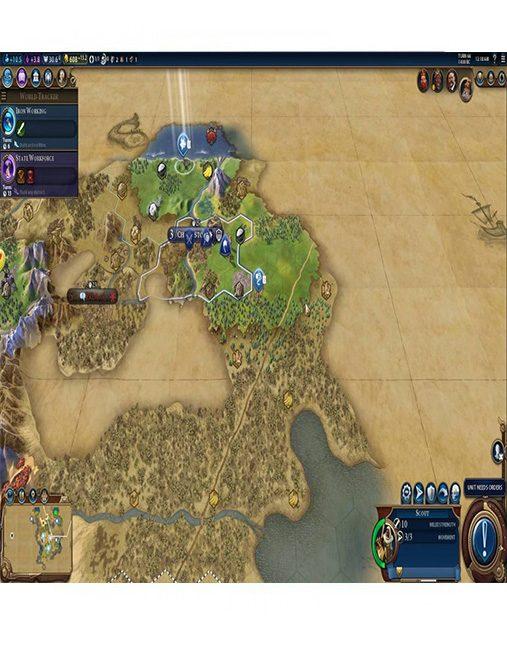 تصویر بازی Civilization VI برای Ps4 02