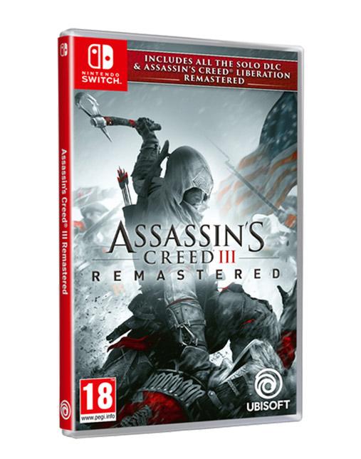خرید بازی nintendo switch assassin creed 3 remaster