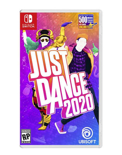 خرید بازی nintendo switch just dance 2020