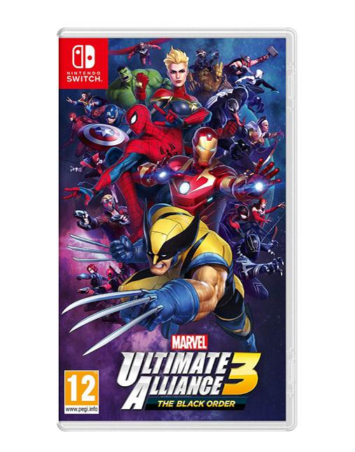 خرید بازی nintendo switch marvel alliance 3