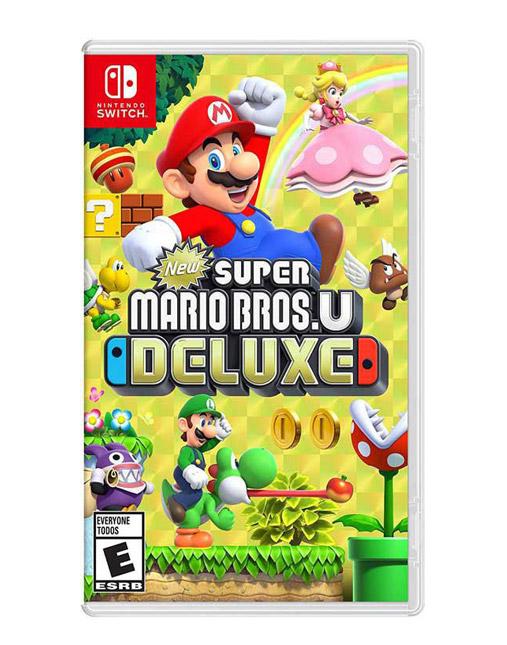 خرید بازی nintendo switch super mario bros u deluxe