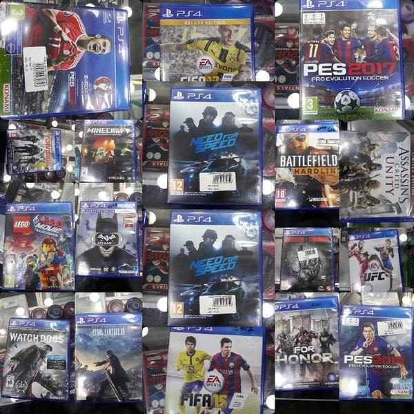 خرید بازی دست دوم PS4 در مشهد