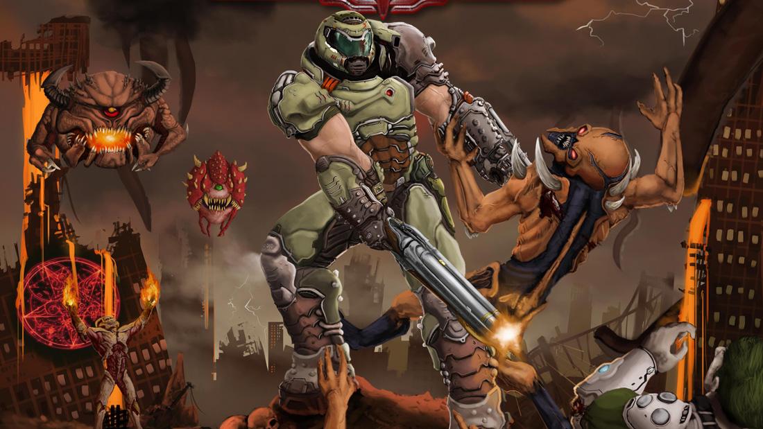 تصویر نقد و بررسی بازی Doom Eternal برای PS4 01