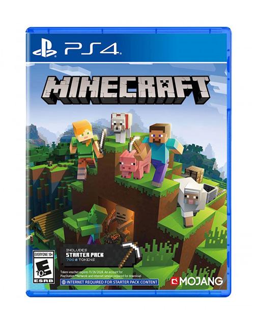 خرید بازی Minecraft Bedrock Edition برای Ps4