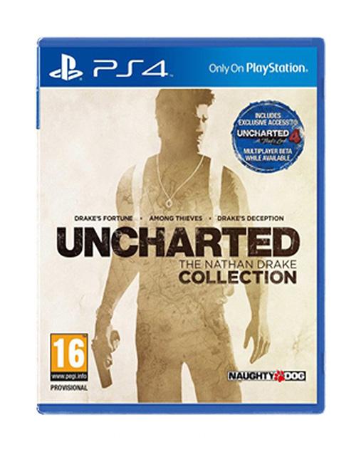 خرید بازی Uncharted The Nathan Drake Collection برای PS4