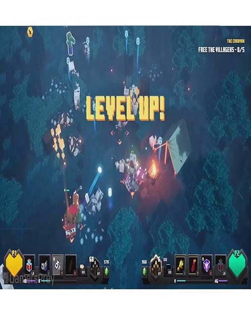 تصویر بازی Minecraft Dungeons برای PS4 01