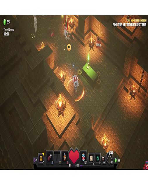 تصویر بازی Minecraft Dungeons برای PS4 02