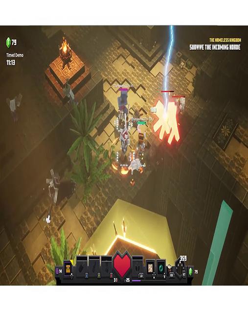 تصویر بازی Minecraft Dungeons برای PS4 03