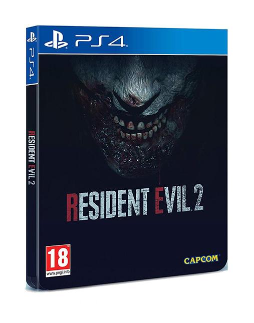 خرید و قیمت بازی Resident Evil 2 Remake Steelbook برای Ps4