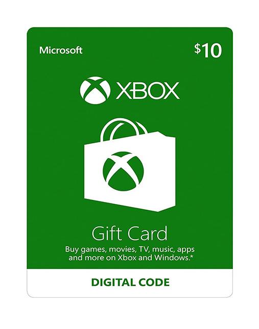 خرید گیفت کارت 10 دلاری ایکس باکس ( Xbox )