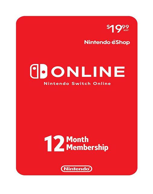 خرید اشتراک آنلاین نینتندو سوییچ یک ساله ( Nintendo eShop)