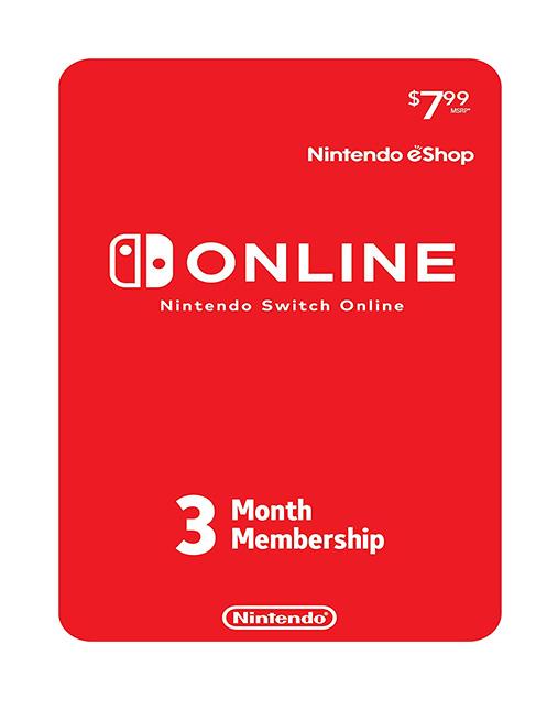 خرید اشتراک آنلاین نینتندو سوییچ سه ماهه ( Nintendo eShop)
