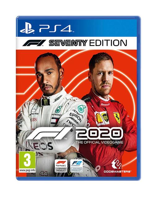 خرید بازی F1 2020 Seventy Edition برای Ps4