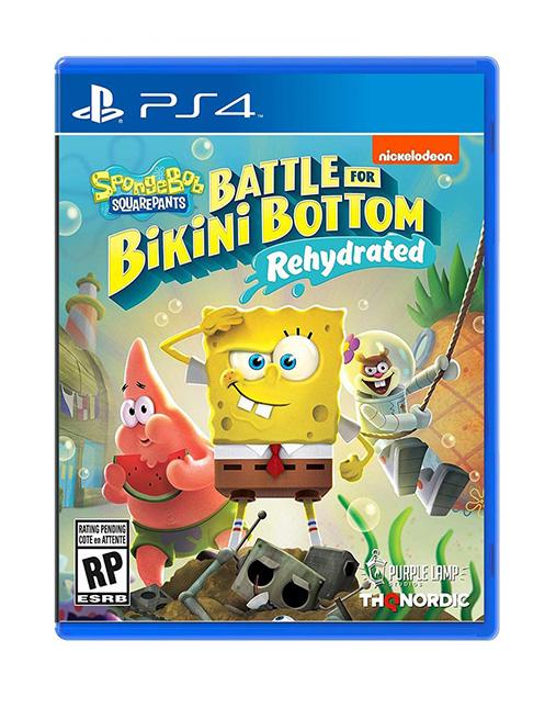 خرید بازی SpongeBob SquarePants: Battle for Bikini Bottom – Rehydrated برای ps4