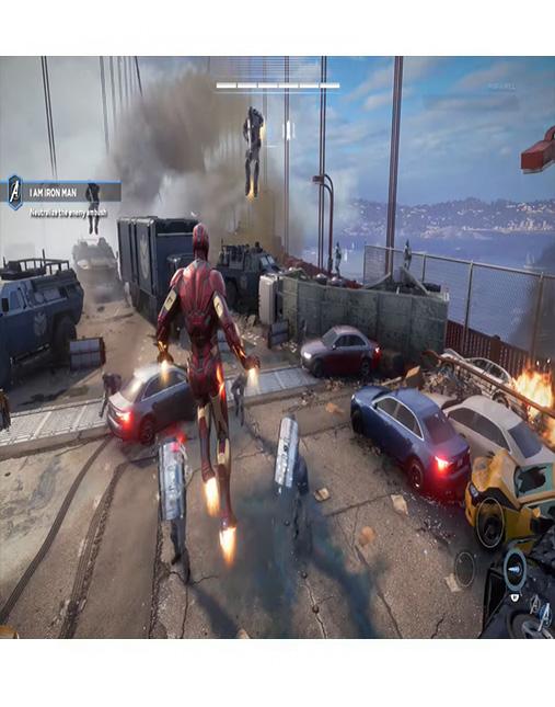 تصویر بازی Marvel's Avengers برای Ps4 03
